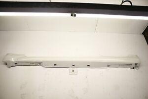 NEW OEM SIDE SPOILER AIR DAM ROCKER G37 Q60 SPORT 08-15 LEFT DRIVER WHITE COUPE
