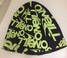 O Neill Glow In The Dark Boys Beanie Hat Skiing Snowboarding XMAS CLEARANCE