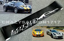 Lotus Sports Windscreen Sticker Decals Exige Elise Evora Cup R X 1
