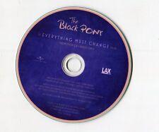 The BLACK PONY-CD-PROMO-Everything Must Change © 2012-eu-1 - Track Pop Rock
