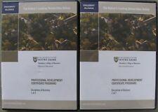 Notre Dame University Certificate Program Disciplines of Business Online Course