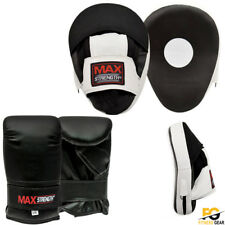 Boxing Bag Gloves Junior Punching Bag Mitts MMA Muay thai Training Sparring Pads