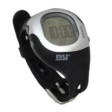 NEW Pyle Ladies Heart Rate Monitor Watch Calorie Counter 50 Lap Memory SOS Mode