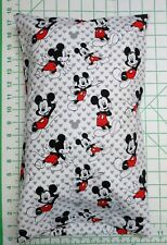 Mickey Mouse on white and gray -  Small Pillow Case & Travel / Toddler Pillow