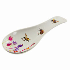 Busy Bees Kitchen Spoon Coaster Rest Watercolour Flowers Print Florals Design