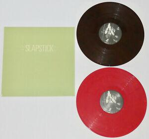 SLAPSTICK Self Titled BROWN-RED VINYL 2xLP /500 alkaline trio lawrence arms nofx