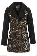 Wool Blend Zip Hip Length Outdoor Coats & Jackets for Women