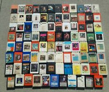 LOT OF 95 Classic rock Country Western albums on 8-track Tape Cartridge MUSIC