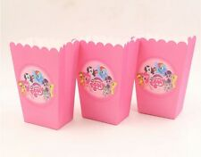 12 X MY LITTLE PONY POPCORN BOXES / LOLLY BOX PARTY SUPPLIES/ BIRTHDAY FAVOUR