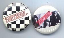 FASTWAY 1983 Pinback Buttons 2 Different near MINT