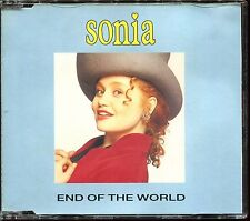 SONIA - END OF THE WORLD / COUNTING EVERY MINUTE REMIX - CD MAXI [2942]