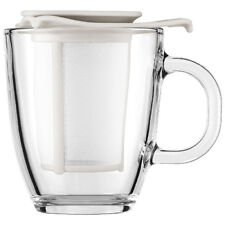 Bodum Yo-Yo Tea Strainer Set Off White - Enjoy a delicious single-serving tea