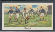 Boguslavsky - Sports Records 1925 - # 40 Rugby - England
