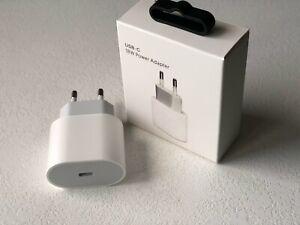 18W Netzteil Für Original iPhone 11 12 Ladegerät  Power Adapter USB C  NEU DHL