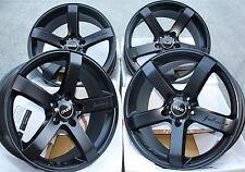 """19"""" BLACK Cruize Blade CERCHI IN LEGA ADATTA PER AUDI a3 a4 a6 a8 q3 q5 TT 06 > 5x112"""