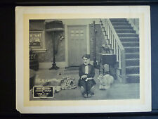 1916 ONE A.M. - RARE EARLY RE-RELEASE LOBBY CARD - CHARLIE CHAPLIN SILENT COMEDY