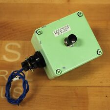 NKK MB-2011 Pushbutton Switch SPDT 6Amp 125VAC With Enclosure 2-7/8 X 2-5/8