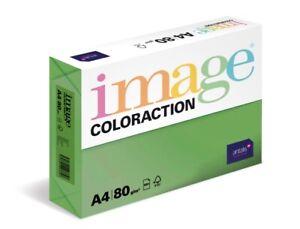 500 Blatt Kopierpapier Image Color A4 80g intensivgrün intensiv farbiges Papier