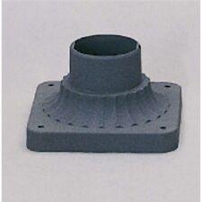 Volume Lighting Black Pedestal Mount, Black - V0080-5