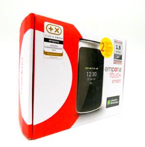 """Handy Senioren Klapphandy emporia TOUCHsmart Schwarz 4GB LTE  3,4"""" Display"""