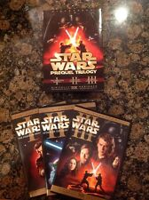 Star Wars Prequel Trilogy (DVD,2008,6-Disc Set,widescreen) Authentic US Release
