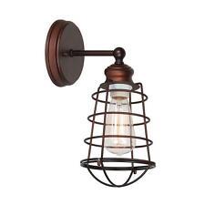 NEW Design House Ajax Collection 1-Light Textured Coffee Bronze Indoor Sconce