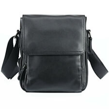Black Man Bag Genuine Leather Shoulder Messener Business Bags Cross body Handbag