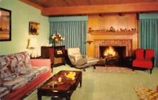 CONTOUR CHAIR Interior Decorations Mid-Century Furniture 1952 Vintage Postcard