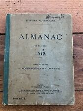 egyptian goverment almanac for 1917 .compiled at the goverment press