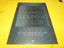 ALABAMA SHAKES - Sound & color - Publicité de magazine / Advert !!!