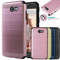 For Samsung Galaxy J3 Emerge/J3 Prime/Luna Pro Case Phone Cover+Screen Protector