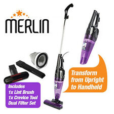Merlin 2 in 1 Mini Vacuum Cleaner (Purple) - 2 Year Guarantee