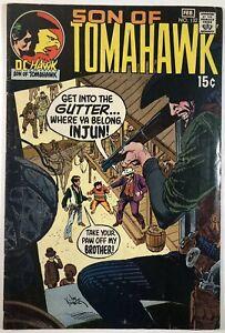 Tomahawk  #132 1970-DC-Son of Tomahawk-Kubert-George Washington VF- (7.5)
