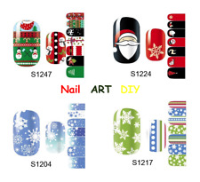 Adesivi Unghie-14 Nail Patch Art-NATALE-CHRISTMAS-Adesivi-Stickers Natale