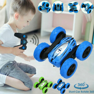 Ferngesteuertes Auto Stunt Auto für Kinder, RC Stunt Auto, 2,4 GHz, 360 Spin DHL