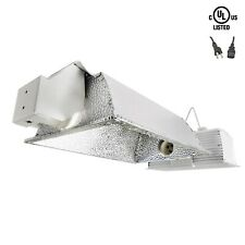 iPower 630W Double Lamp Ceramic Metal Halide Grow Light System Kits 240V