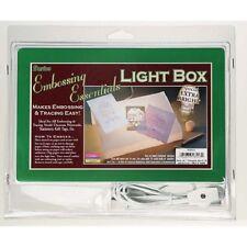 Craft LIGHT Box 9 x 6 in Embossing - BROKEN LIGHT BULB - DISCOUNTED