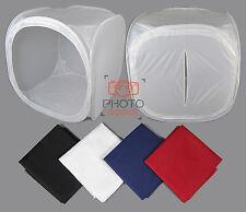 "100cm / 39"" Photography Light Tent + 4 Backdrops - Box Cube Photo Studio Softbox"