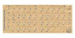 Telugu Keyboard Stickers w/ Blue Letters Reverse Print