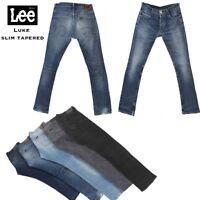 Vintage Lee Luke Slim Tapered Denim Jeans 26 in. to 44 in.