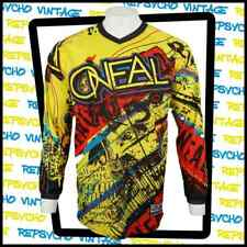 O'NEAL Element Series Motocross Long Sleeve Yellow Graphic Shirt   Size M  151 Y