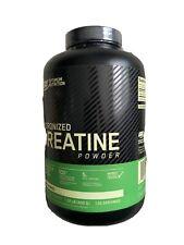 Optimum Nutrition Micronized Creatine Monohydrate Powder, Unflavored 120 Serving