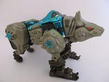 TRANSFORMERS BEAST WARS Deluxe Transmetals RHINOX - HASBRO TAKARA 1997 Loose