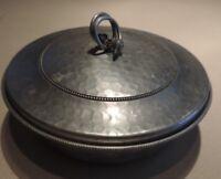 Vintage B.W. Buenilum Aluminum Lidded Casserole Vegetable Dish with Pyrex Insert