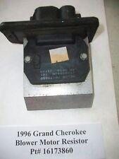 1996 96 Jeep Grand Cherokee Blower Motor Resistor Pt#  16173860  OEM#DS003
