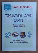 Tournament Tallinn-2011. PSV, West Ham United, Dtnamo Moscow, Estonia U-19