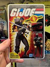 Gi Joe Cobra Storm Shadow 1984 Black Legion Shadow Silver Logo Lot A Beautiful