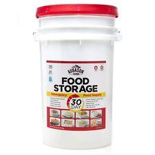 Augason Farms Emergency Food Supply 30-Day Pail – 1 Person