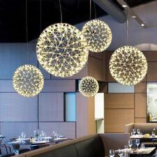 Modern Round Spark Ball Chandelier Firework Pendant Lamp Led Light Lighting