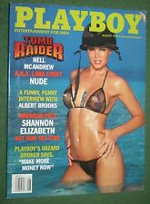 Playboy Aug 1999 POM Rebecca Scott Shannon Elizabeth Albert Brooks interview